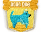 Good Dog Iron On Patch