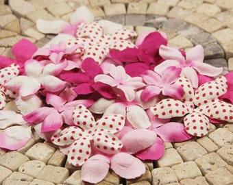 Prima E-Line paper flowers- Fuchsia