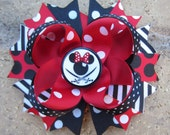 Minnie Mouse Pirate Inspired Disney Characters Disney Cruise Lines Custom Boutique Hair Bow DCL