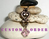 Custom order for Elise - (6) Create your own Butterfly Necklace Kits