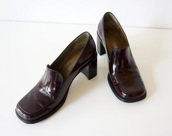 Vintage pump, shoe made by LOTTUSSE, size 38, 90s