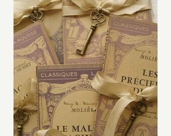 20PercentOff 1900s Gorgeous Small Antique Paris French Book