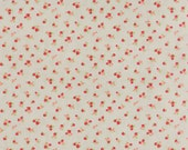 YEAR END SALE - 1 yard - Little Ruby -  Little Quirky in Gray (55131-15) - Bonnie and Camille for Moda Fabrics