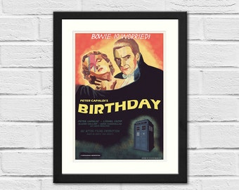 Peter Capaldi's Birthday Print