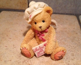 1994 Sealed With Love Cherished Teddy Figurine by P. Hillman