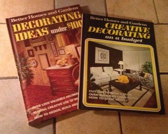 2 Better Homes and Gardens Decorating How-To Books