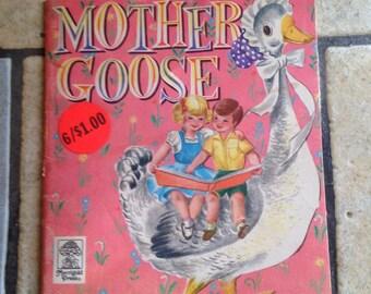 1955 Mother Goose Children's Book