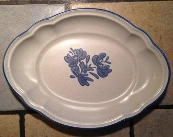 Yorktown Dessert Plate or Pasta Plate by Pfaltzgraff