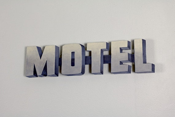Noir Motel Sign