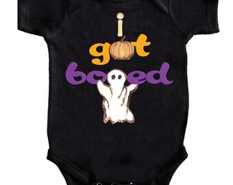 Baby Halloween Romper Black Baby Bodysuit By Mumsy Goose Newborn Romper first Halloween
