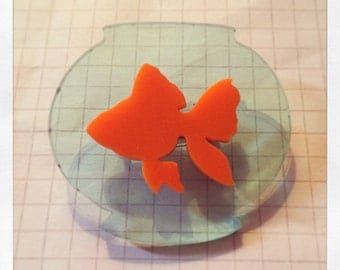 Goldfish Bowl Brooch