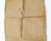 Burlap Sack Bag from the 50s    Clean, Stored Airtight  18 x 38  FREE DOMESTIC SHIPPING