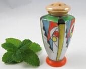 Single Art Deco Shaker, Cork Stopper, Lusterware Japan, Salt Pepper  Herb Spice Container