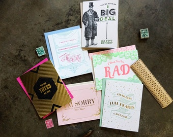 SALE - Assorted Sample Pack - 20 Cards And Envelopes