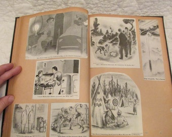 Vintage Scrapbook Cartoon Clippings 1920's - 1950's