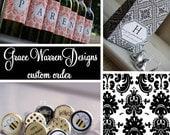 Custom wedding invite creation