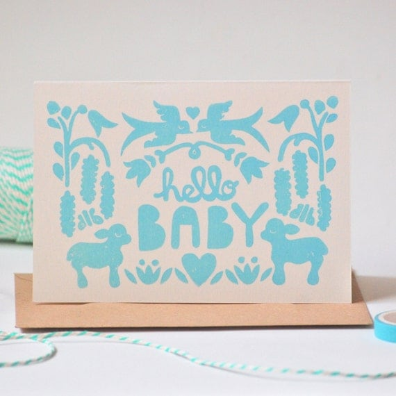 Hello Baby - Card