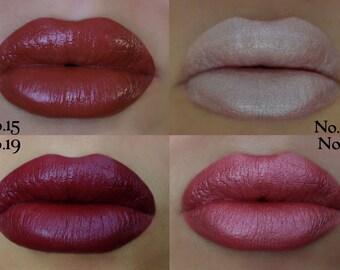 Lip Stix Collection VIXEN STIX Organic Mineral Makeup Stix