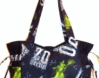 Wizard of Oz, Wicked Witch - Handbag, Purse, Tote, Shoulder Bag, Outside Pockets