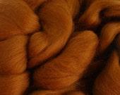 Ashland Bay Solid Nutmeg Color Merino Wool Roving  - Downsizing SALE  Must Go!