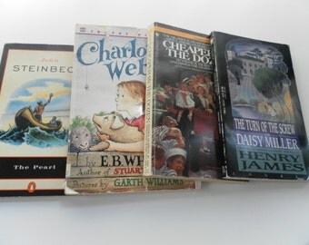 Quartet of Classics vintage paperbacks