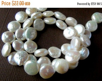 35% OFF Coin freshwater pearl