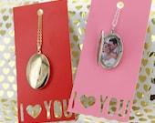 Valentine SALE Monogrammed Locket Necklace