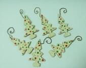Christmas tree ornaments-Ceramic Christmas Tree Ornaments