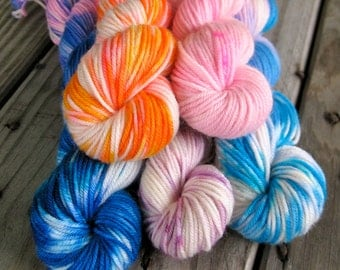 Clouds Get In My Eyes Mini Skein Collection