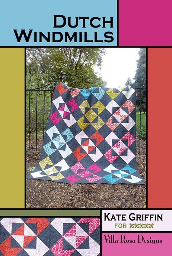 Dutch Windmill Quilt Pattern From Villa Rosa Designs