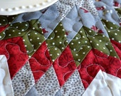 Christmas Wishes Mini Lone Star Table Quilt
