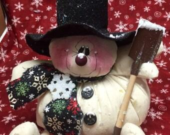 Shane my puffy pal snowman