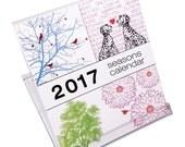 2017 Desk Calendar - Seasons