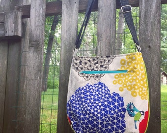 Design a custom Trail Tote | Handmade Cross-Body Bag
