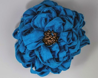 Special listing for Monica, Fabric Flower PIn