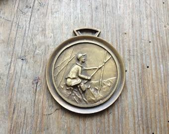 BRONZE FISHING medal