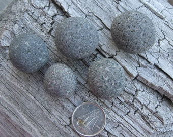 Genuine Surf Tumbled Tiny Rounded Beach Rocks for Crafts