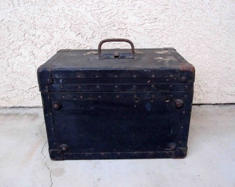 Vintage Department of the Navy Telegraph Trainer Box. Circa 1950's.