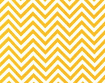 Robert Kaufman Fabric Remix Chevron Stripe Sunshine Ann Kelle