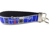Star Wars R2D2 Keychain, Key fob, Wristlet