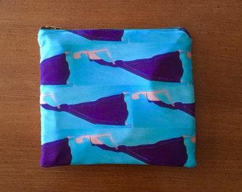 Suede & Silk Minibag