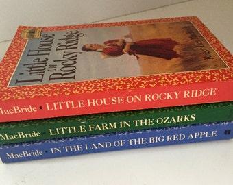 Little House Book Set, Vintage, Laura Ingalls Wilder