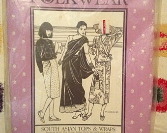 Asian costume pattern - Folkwear South Asian Tops and Wraps Pattern