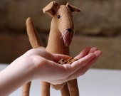 The  Lakeland terrier. Soft sculpture