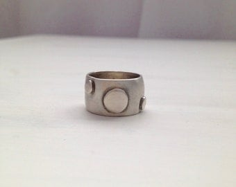 Industrial Silver Ring