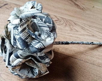 Starwars Comic Book Paper Bridal Wedding Bouquet bridal bouquet Darth Vader Jedi