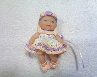 Outfit for 5 inch Berenguer Doll