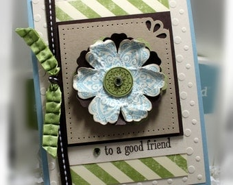 Stampin' Up Good Friend Card