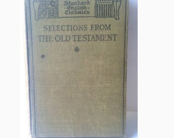 1911 Selections From The Old Testament