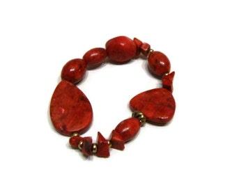 Vintage Beaded Stretch Bracelet Beaded Bracelets For Women Vintage Stretch Bracelet Vintage Jewelry Bracelets Stretch Bead Bracelets